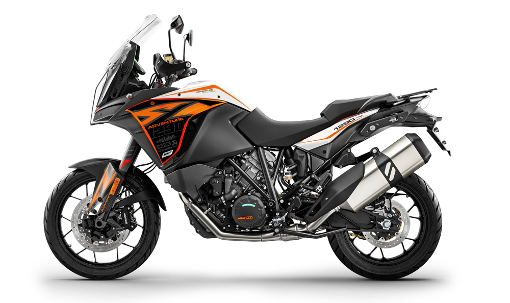 KTM 1290 Adventure - Decals + Parts