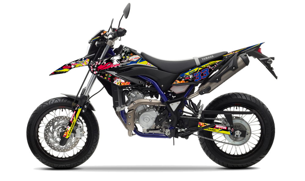 YAMAHA WR 125 - Decals + Parts