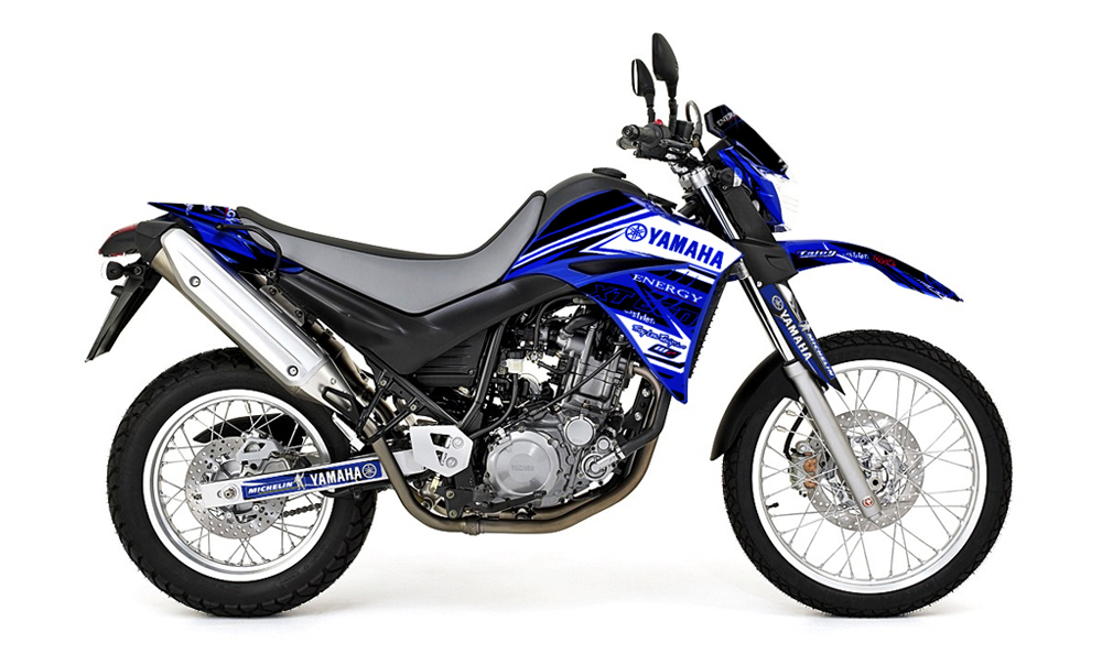 YAMAHA XT 660 - Decals + Parts
